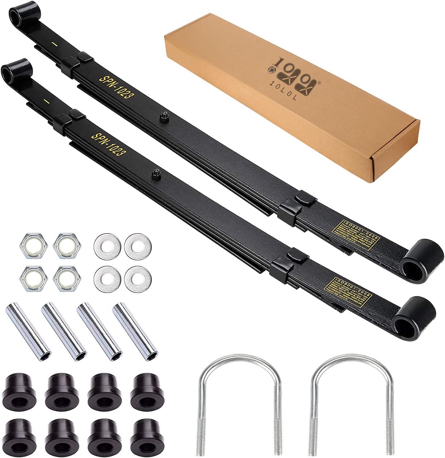 10L0L Golf cheap Cart 4-Leaf Heavy Duty SALENEW very popular Club Spring Rear for Kit Leaf