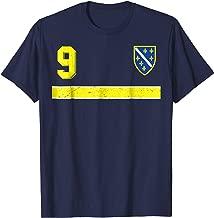 Retro Bosnia and Herzegovina Football Jersey Soccer T-Shirt