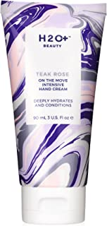 Hand Cream by H2O+ Beauty, Teak Rose On The Move Intensive Moisturizing Hand Cream, For Dry Skin, 3 oz