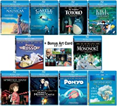 The Master Blu-ray Collection: Written & Directed by Hayao Miyazaki (Nausicaa of the Valley of the Wind / Castle in the Sky / My Neighbor Totoro / Kiki's Delivery Service + More!) + Bonus Art Card