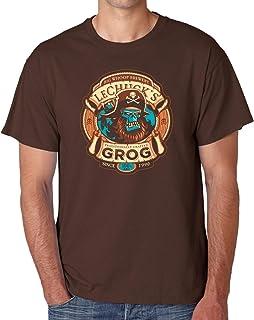 Camiseta de Hombre Monkey Island Videojuegos LeChuck Guybrush Threepwood 001