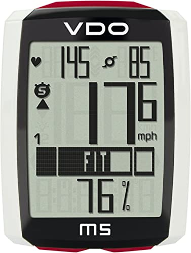 VDO M5 large backlight display extra durable and long lasting data Storage Heart Rate and Cadence Digital Wireless Cycling Computer SET product image