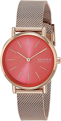 SKW2868 Rose Gold Stainless Steel Mesh