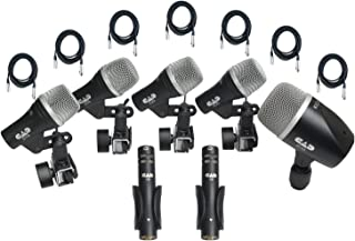 CAD Stage7 Drum Mic Pack W/7 Free 20' XLR Cables