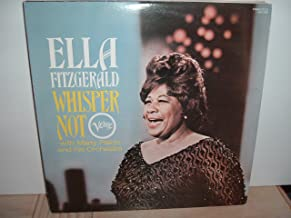 Ella Fitzgerald with Marty Paich - Whisper Not - 1981 Verve Stereo Japan reissue vinyl LP