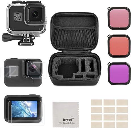 Deyard Zubehör Kit Für Gopro Hero 8 Black Stoßfeste Kamera