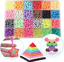 Funcool Beads Toy Fusible Beads Refill, 24 Colors Water Spray Beads Set Compatible with Beados Art Crafts Toys for Kids Ov...