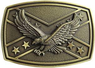 New Vintage Bronze Plated Western Eagle Cross Star Belt Buckle US Stock