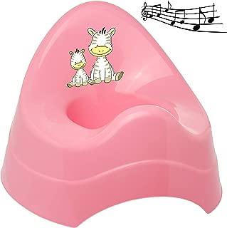 Spritzschutz T/öpfchen // Nachttopf // Babytopf Babyt/öpfchen // .. Bieco Name Katze /_ inkl Melody mit gro/ßer Lehne alles-meine.de GmbH Musik /& Sound wei/ß /_ Hello Kitty