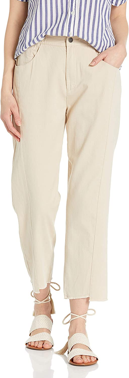 RVCA Women's Out Going High Rise Pant