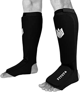 kickboxing shin guards sizing