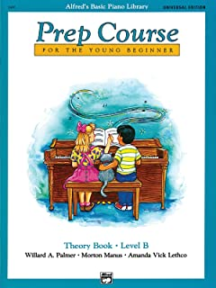 Alfred'S Basic Piano Library Prep Course Theory B