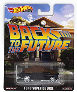 Hot Wheels Premium Back to The Future Ford Super De Luxe Vehicle