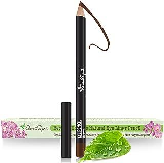 Better'n Ur Eyes Natural Eyeliner Pencil: BROWN | Hypoallergenic & Great for Sensitive Eyes | Natural | Vegan | Certified Cruelty Free | Paraben Free | Gluten Free | Smooth Application | Long Lasting