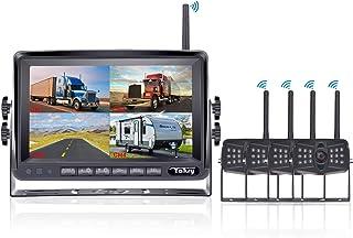 $359 » Yakry YA27S HD 1080P Digital Wireless 4 Backup Camera for RVs/Trailers/Trucks/Motorhomes/5th Wheels 7''Monitor with Highwa...