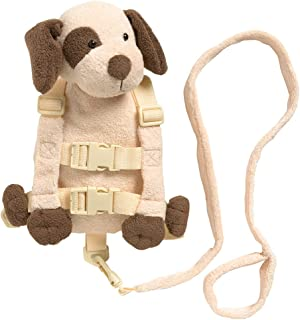 Playette 2 in 1 Harness Buddy Puppy, Tan
