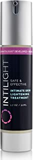 Intilight Skin Lightening Cream - Hydroquinone Whitening and Bleaching Dark Spot Corrector Serum for Face, Underarm, and Sensitive Areas
