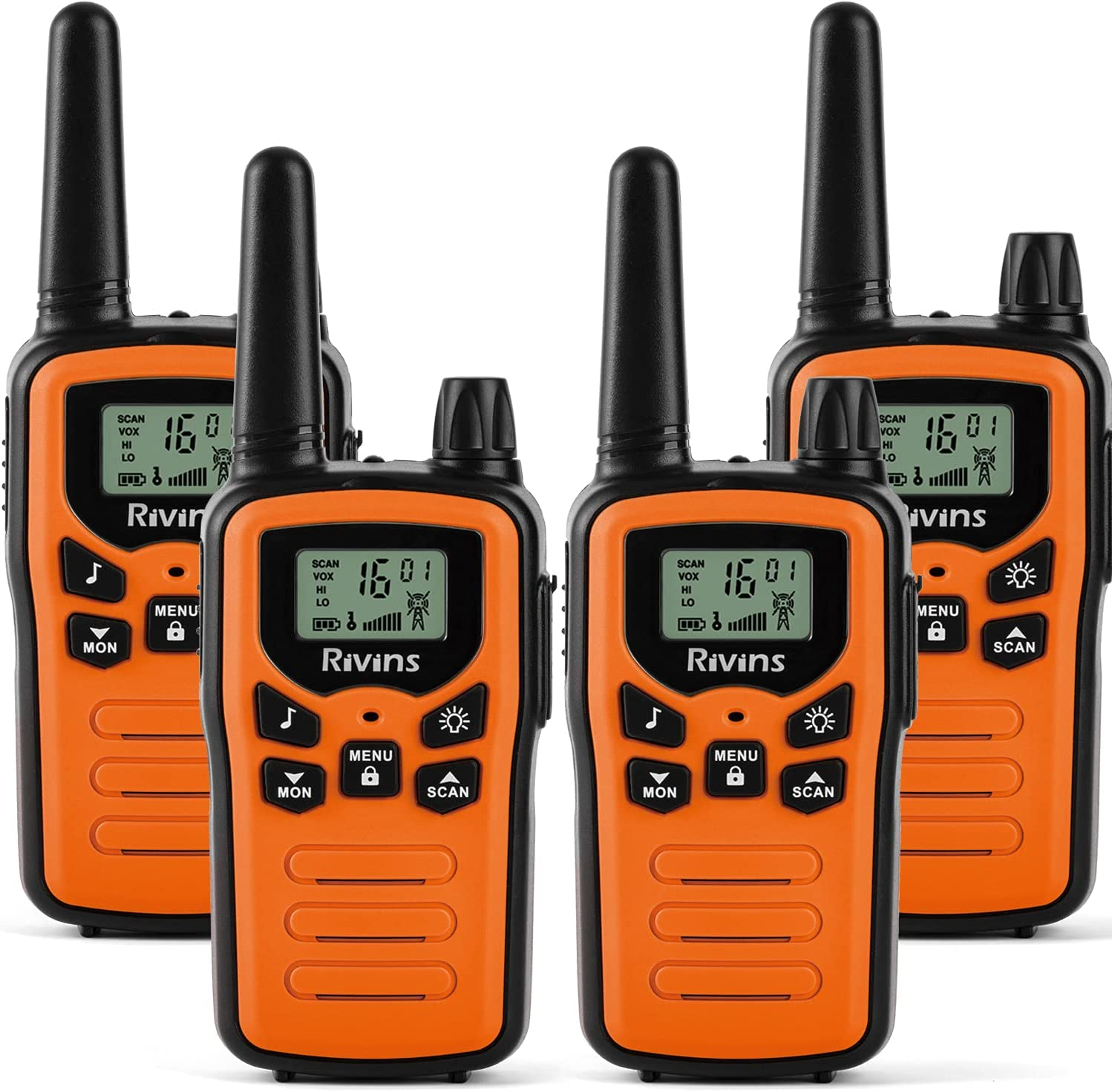 Walkie Talkies for Adults Max 70% OFF 4 Pack Brand Cheap Sale Venue Radio 22 Channel V 2-Way Radios