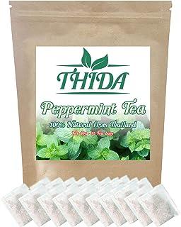 Peppermint Tea 15 Bags | Peppermint Herbal Leaf Tea | Asian Herb Tea Peppermint Leave From Thailand