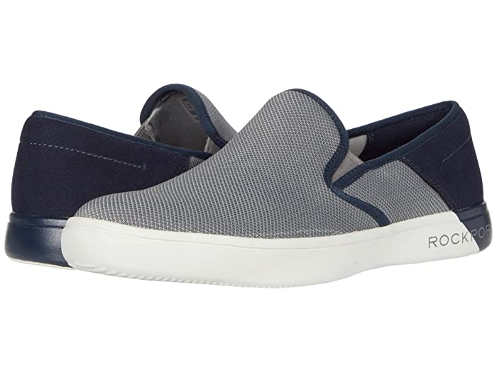 Rockport  Colle Slip-On Mesh (Grey Multi Mesh) Mens Shoes
