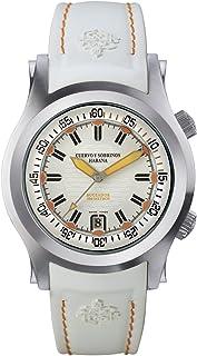 [クエルボ・イ・ソブリノス]Cuervo y Sobrinos 腕時計 紳士用 ダイバー 2806-1BA メンズ 【正規輸入品】