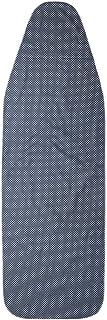 Wiaret tela azul gris/áceo Funda universal para tabla de planchar 120 x 40 cm, con goma el/ástica y tensores de tabla ajustables 120 x 40 cm