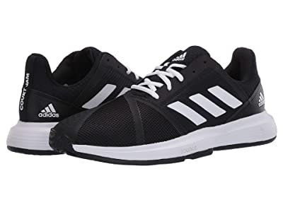 adidas CourtJam Bounce (Core Black/Footwear White/Matte Silver) Women