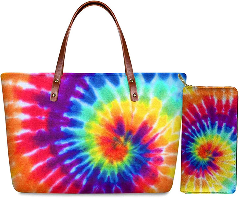 FUIBENG Women Girl Shoulder Handbag and 最新 Cross-body Wallet Set 18%OFF To