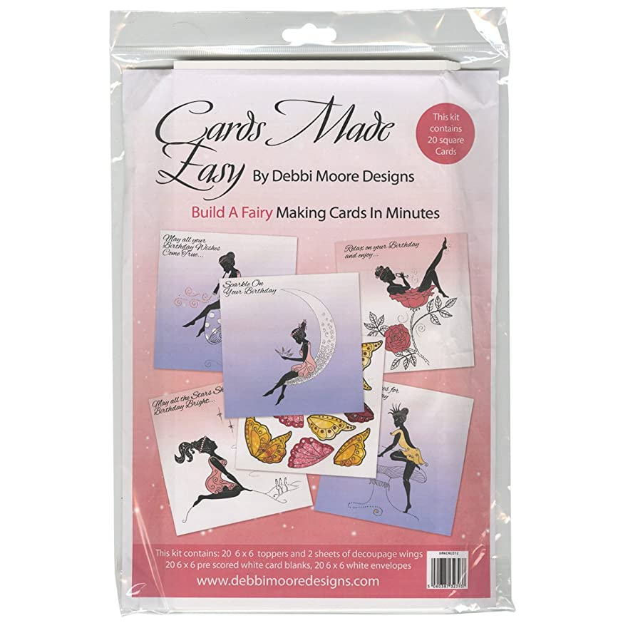 Debbi Moore Enchantment Cards Made Easy Kit-Build A Fairy