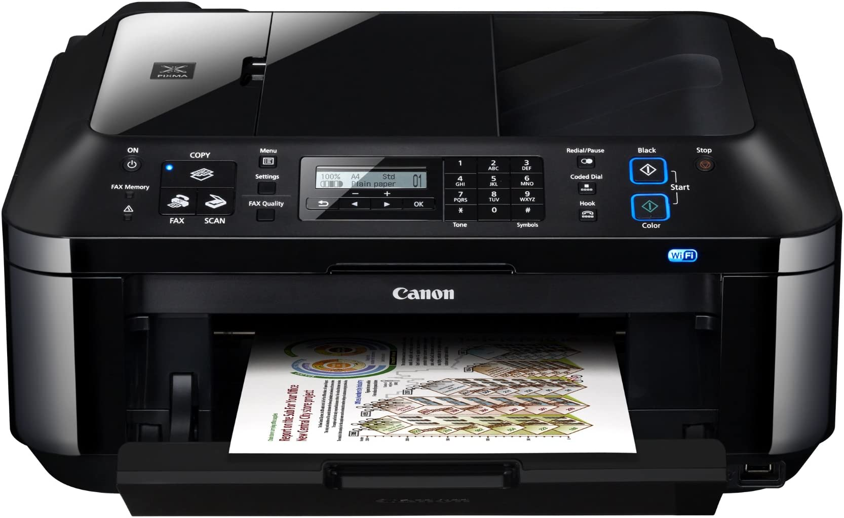 Canon Pixma MX410 Wireless Office All-In-One Printer (4788B018)