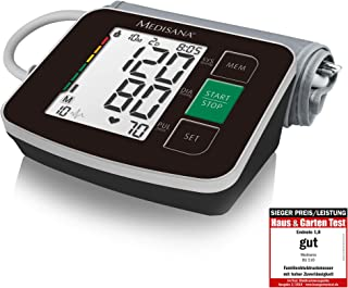 Medisana BU 516 Bovenarmse Bloeddrukmeter Zonder Kabel, Aritmiedisplay, WHO- Verkeerslichtschaal, Voor Nauwkeurige Bloeddr...