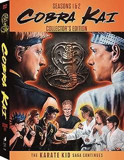 Cobra Kai Season 1 & Season 2 Set with Double-Sided Headband