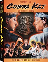 Cobra Kai Season 1 & Season 2 Set with Double-Sided Headband
