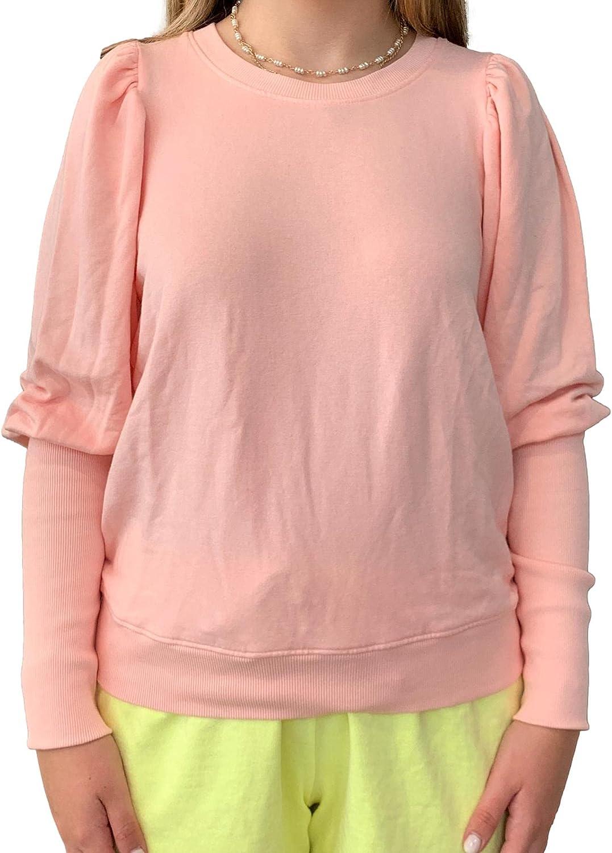 Women's Puff depot 40% OFF Cheap Sale Shoulder Sweatshirt