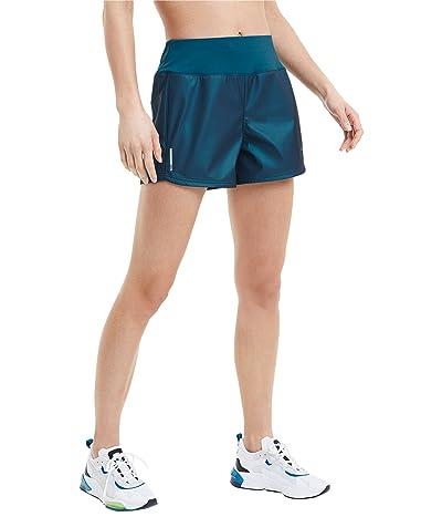 PUMA Train Shimmer 4 Shorts (Digi/Blue) Women