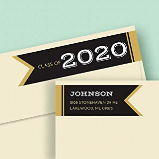 Graduation Day Connect Wrap Self-Adhesive, Flat-Sheet Diecut Address Labels by Colorful Images