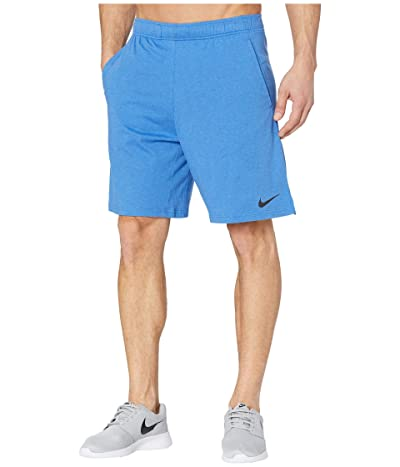Nike Dri-FIT Training Shorts (Light Game Royal Heather/Black) Men
