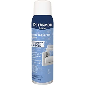 PETARMOR Home and Carpet Spray for Fleas and Ticks, Protect Your Home From Fleas and Eliminate Pet Odor, 16 Ounce