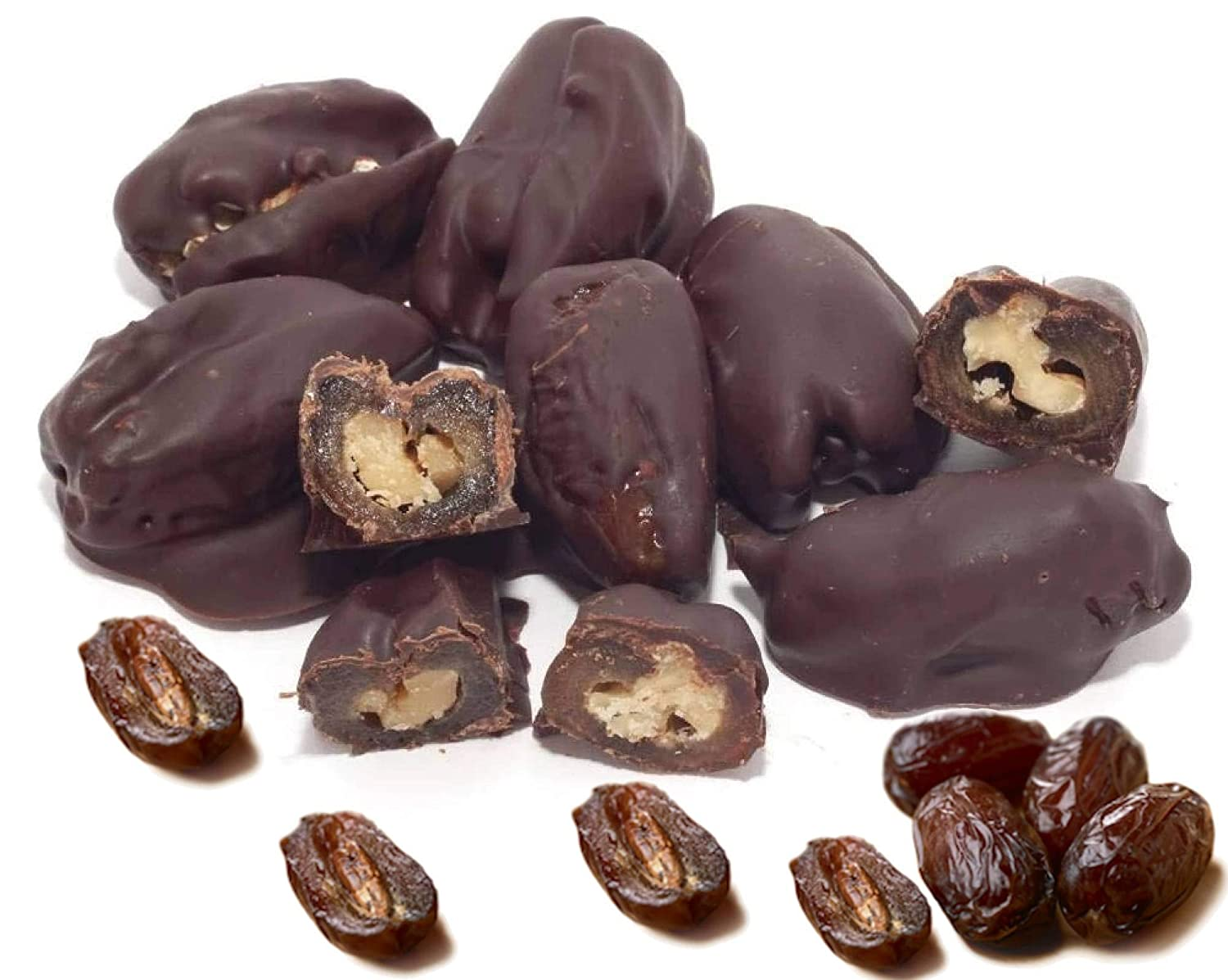 Andy Anand's Dark Chocolate covered Dates Sea 1 l El Paso Mall Max 44% OFF with Salt