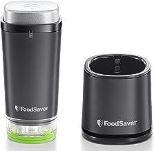FoodSaver VS1192X Vacuümapparaat voor levensmiddelen, draadloos, draagbaar, met laadstation, 1 container voor verse inhou...