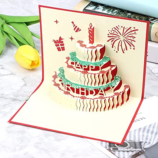 Party Propz Greeting Card for Birthday