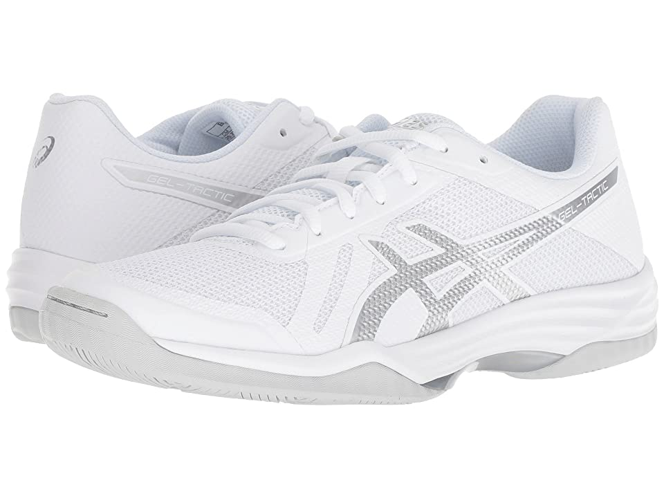 ASICS Gel-Tactic 2 (Real White/Silver) Women