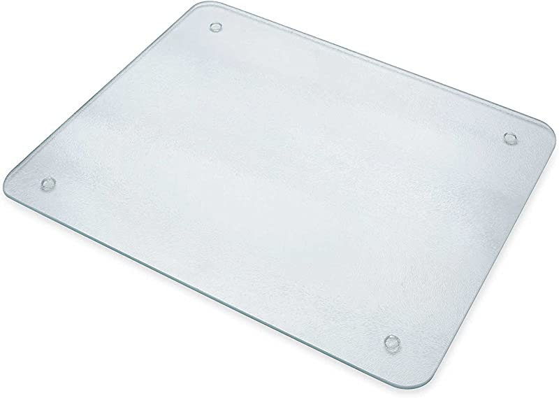 Chop Chop Glass Cutting Board Counter Saver 12 X15