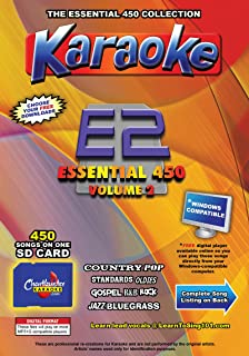 Chartbuster Essential 450 Vol. 2 - MP3G's on SD Card