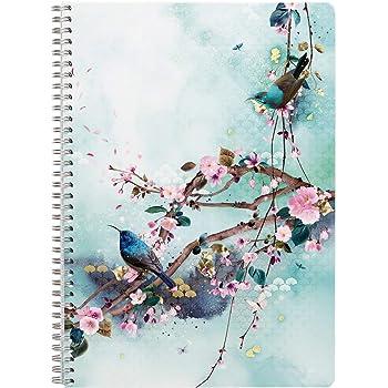 couverture carte pellicul/ée motif al/éatoire Un carnet piqu/é Sakura dream 48 pages 7,5x12 cm 90g unies blanches Clairefontaine 115583C