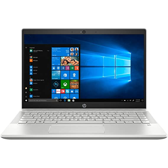 HP Pavilion Intel Core i5 8th Gen 14-inch FHD Thin and Light Laptop (8GB/128GB SSD/1TB HDD/Win 10/MS Office/Mineral Silver/1.6 kg), 14-CE1001TX