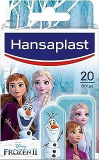 Hansaplast Kids FROZEN 2 Kinderpflaster (20 Strips), Wundpflaster mit Disney-Motiven zum Aufmuntern, schmerzlos zu entfern...