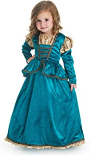 Little Adventures Poco Aventuras tradicional escocés princesa niñas disfraz–tamaño grande (5–7años)