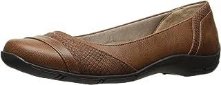 حذاء LifeStride مسطح للنساء، بني كايلي، 8. 5 N US