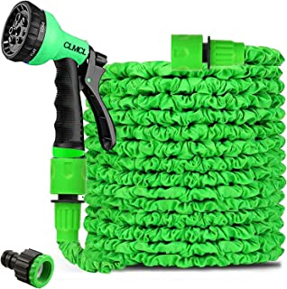 100ft Garden Hose,Expanding Garden Water Hose Pipe with 8 Function Spray Gun,3 Times Expandable Watering Hose,Flexible Mag...